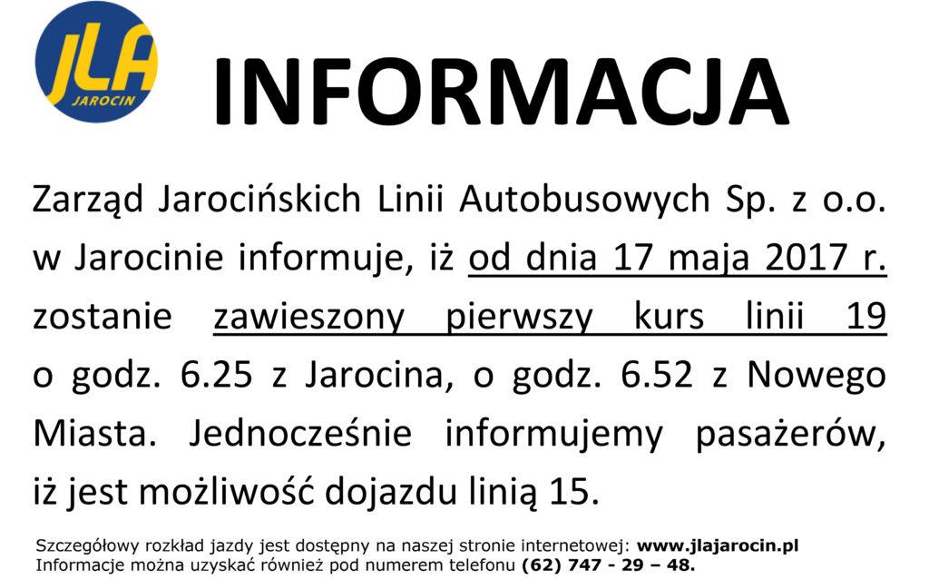 INFORMACJA 19